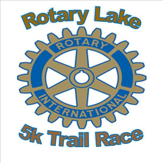 Rotary Lake Trail 5K Logo